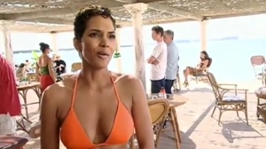 Halle Berry revealing the plot of Die Another Day