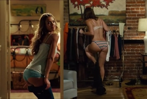 Jessica Alba & Jessica Biel- Two Asses for the price of one