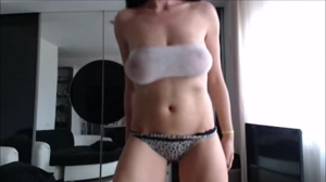 CamModel Dances in Tube Top2