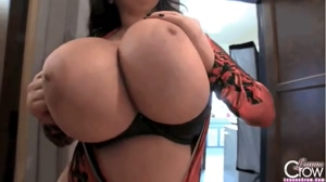 Leanne Crow's Ever Expanding Tits