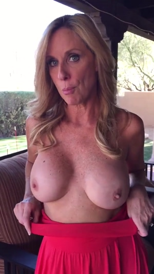 jodi west flashing her milf tits