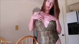 I want you to worship my boobs. Then I want you to cum on them.