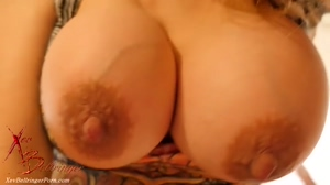 Up close and personal with Xev's areolas