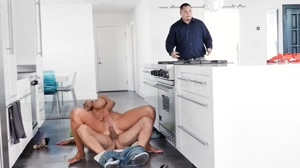 Reality Kings - Kitchen Cockfidential - Nicolette Shea - Reverse Cowgirl
