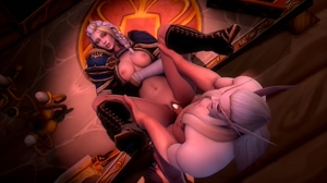 Jaina Proudmoore Getting Fucked by Lor'themar Theron