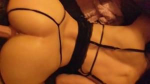 Pounded in lingerie
