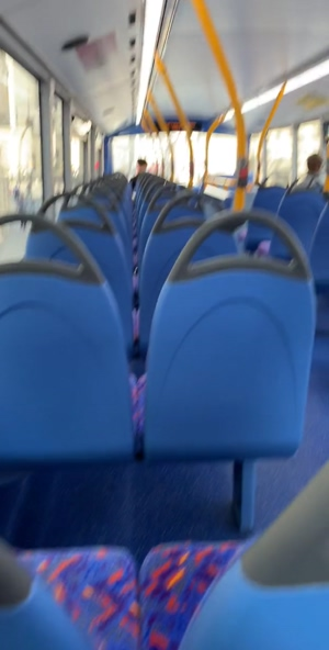 Buses are fun