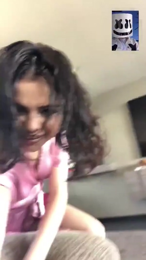 Selena Gomez crawling and begging for a cock