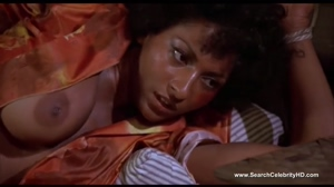 Pam Grier trying to escape