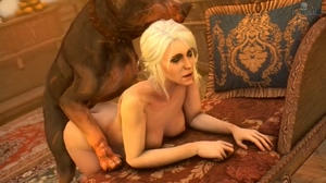 Ciri getting pounded from behind