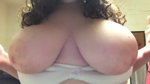 Flashing Big Boobs
